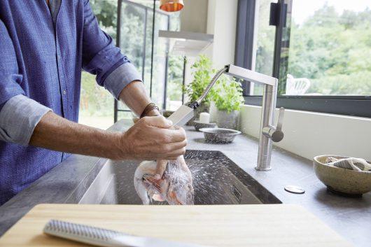 ברז מטבח דגם פאנרה BLANCO