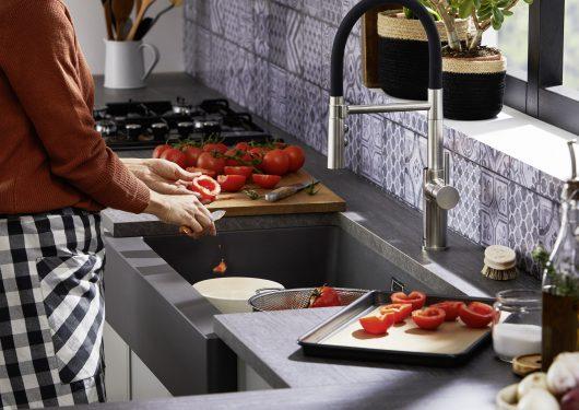 ברז מטבח דגם קטריס BLANCO