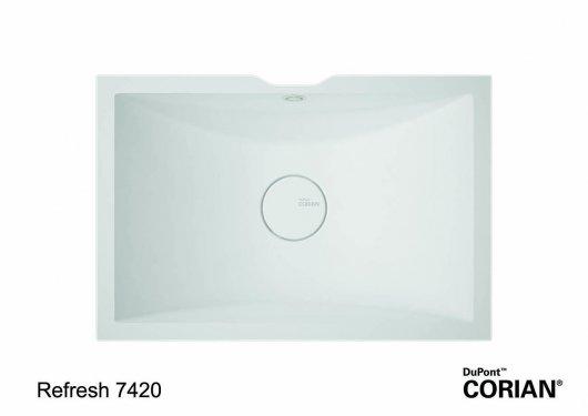 כיור אמבט דגם ריפרש 7420