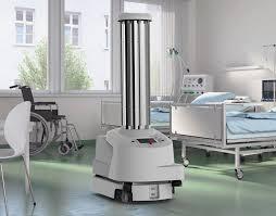 רובוט UVD למניעת זיהומים כולל וירוס COVID 19 קורנה